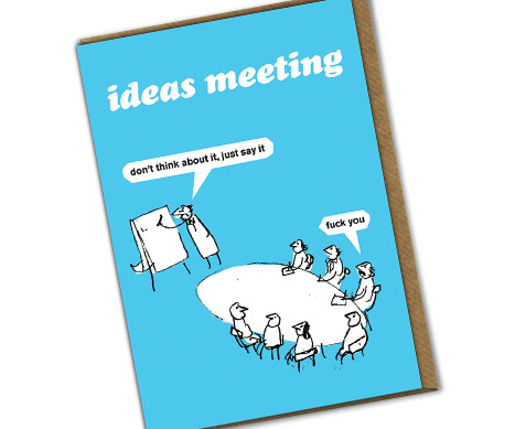 shop modern toss rude cards