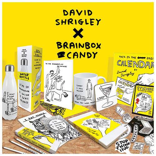 Click here to shop our david shrigley range