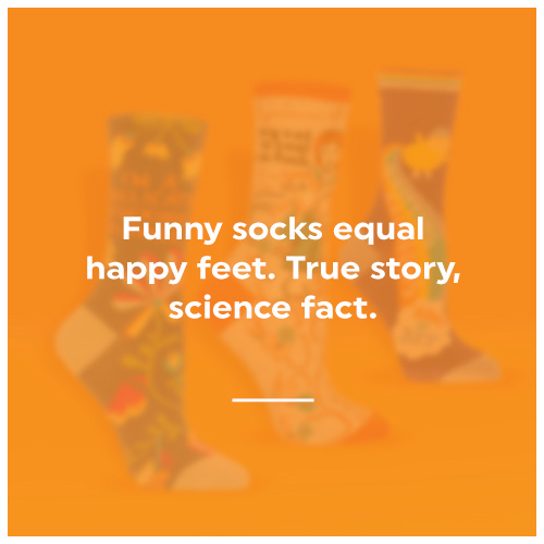 click here to shop our socks