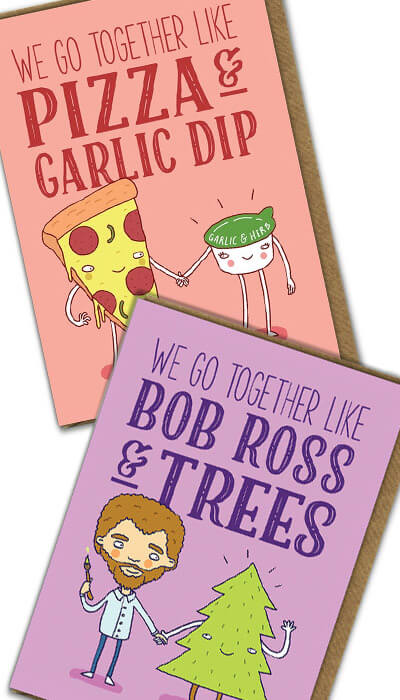 together like funny cards