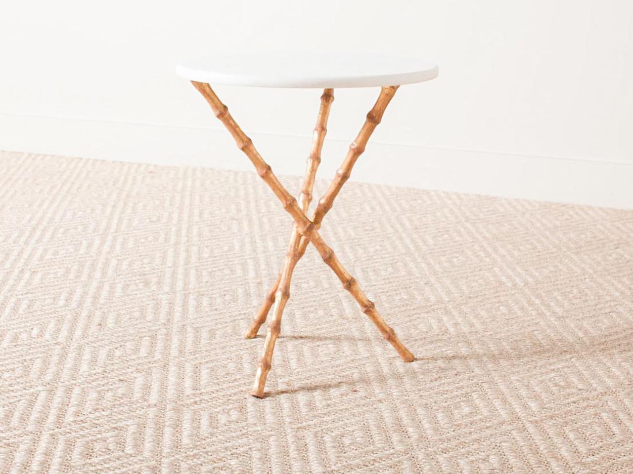 DESTIN SIDE TABLE GOLD