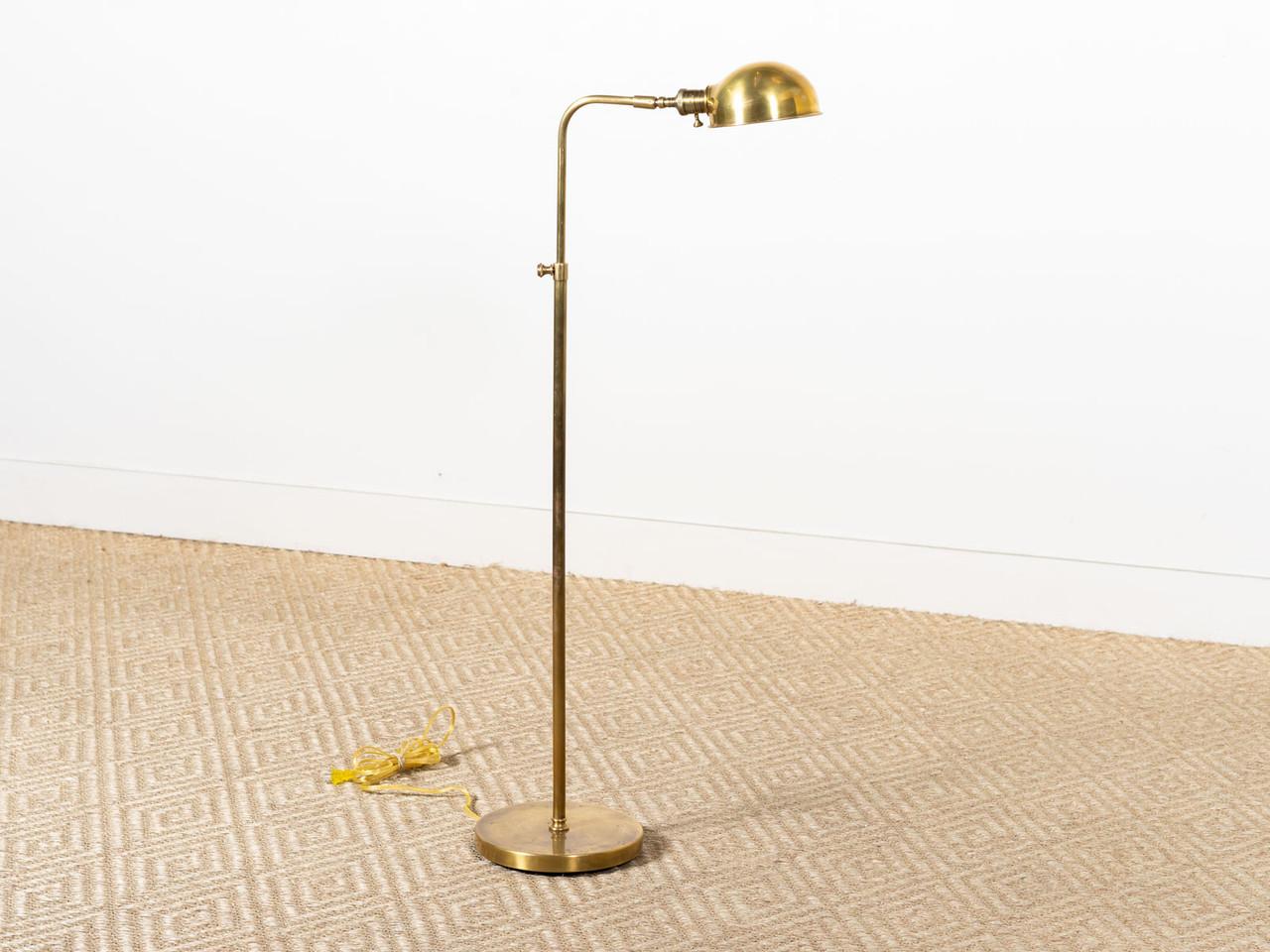 Old Pharmacy Floor Lamp Brass R E V I V A L