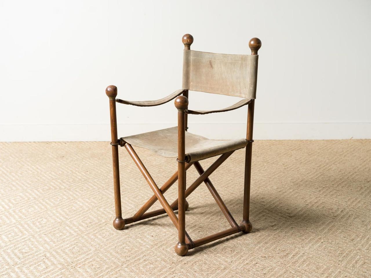 Miraculous Vintage Safari Chair Cjindustries Chair Design For Home Cjindustriesco