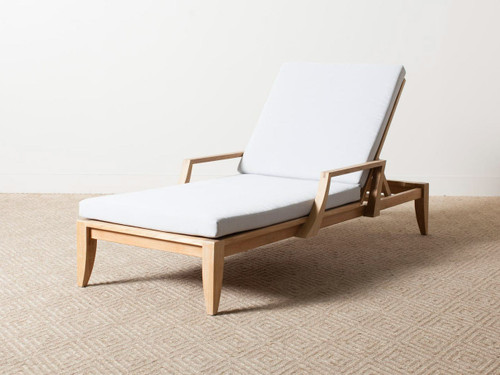 RENLEY ARM CHAISE GRAVEL