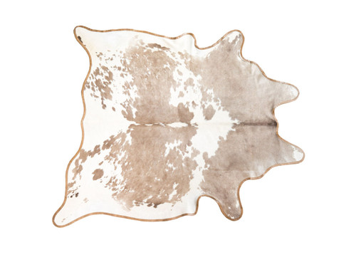 """PALOMINO LEATHER BOUND COWHIDE 80"""" x 88"""""""