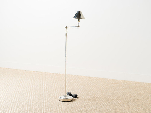 ANETTE FLOOR LAMP NICKEL