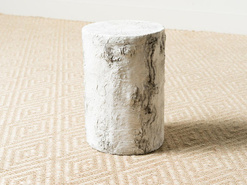 GROTTO BIRCH SIDE TABLE TALL