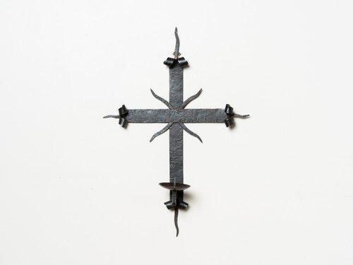 MISSION CROSS SCONCE