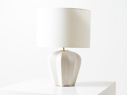 PIERREPONT TABLE LAMP WHITE