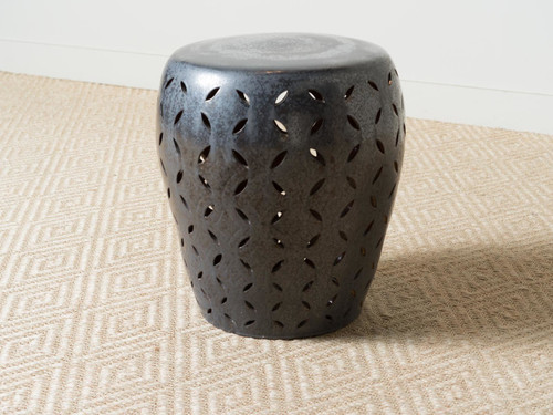 LATTICE GARDEN STOOL