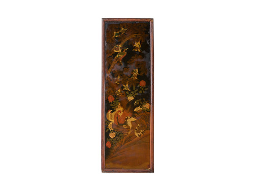 ANTIQUE CHINOISERIE PANEL I