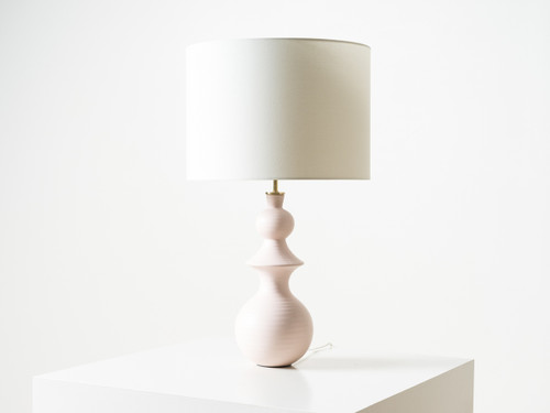 SAXON BLUSH TABLE LAMP