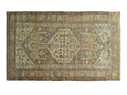 "ANTIQUE MALAYER RUG 6'8"" X 4' 1"""