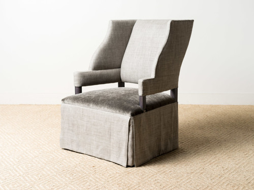 ROBERTO WING CHAIR MOHAIR