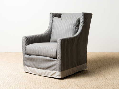 LANA ZIPPER SWIVEL CHAIR