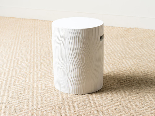 BERNT STOOL WHITE