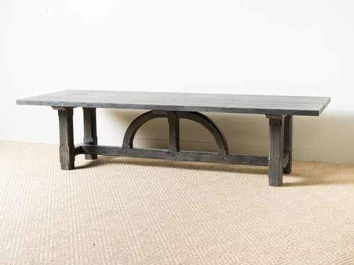 LARGE ARCH DINING TABLE
