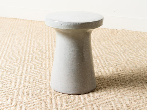 GRAY PLATEAU STOOL