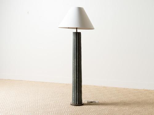 ANTIQUE ZINC FRAGMENT LAMP