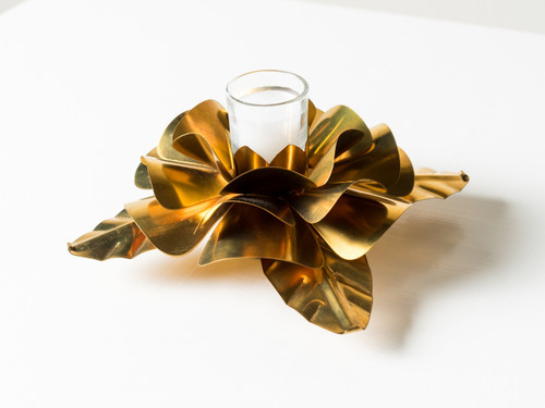ROSA D'ORO WITH BRASS ROSE