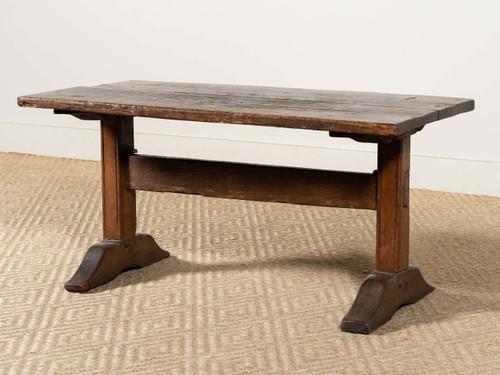 ANTIQUE OAK LOW TABLE