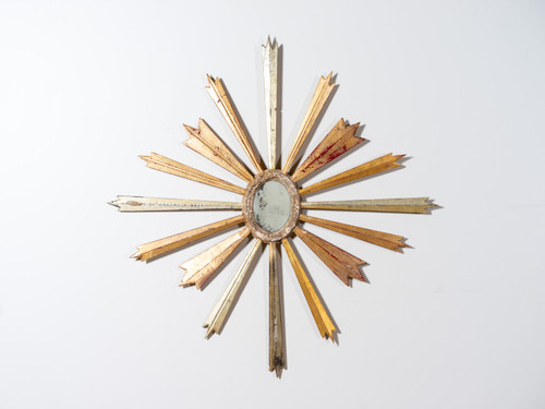 ANTIQUE STARBURST MIRROR