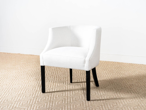 VINCE LINEN DINING CHAIR