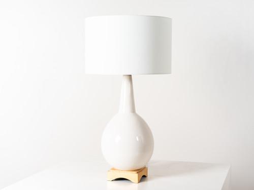 ANTOINE TABLE LAMP IVORY