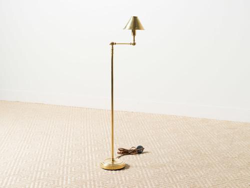 ANETTE BRASS FLOOR LAMP