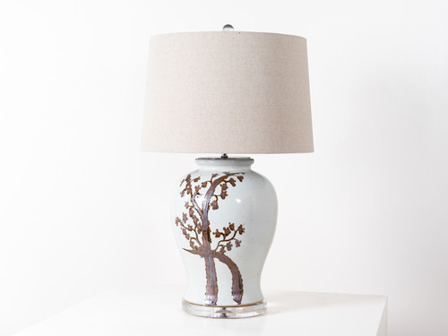 TWISTED TREE TABLE LAMP