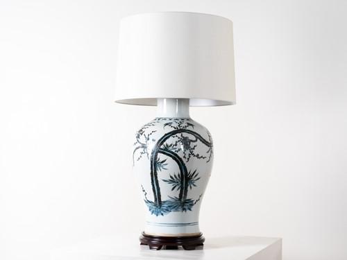 BALUSTER VASE TABLE LAMP
