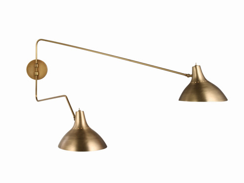 CHARLTON DOUBLE WALL LIGHT