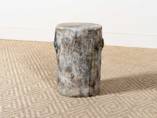 GROTTO EBONY SIDE TABLE TALL