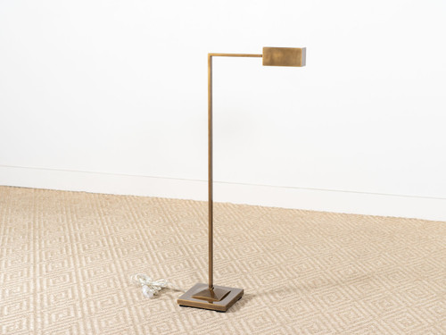 RUXLEY FLOOR LAMP BRASS