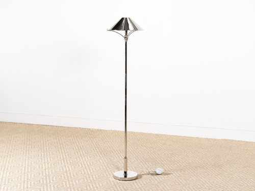 MAARLA FLOOR LAMP NICKEL