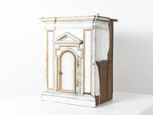 ANTIQUE WOOD TABERNACLE