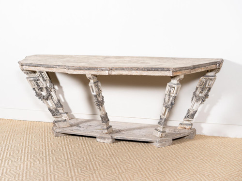 ANTIQUE GRAND GARLAND CONSOLE