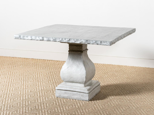 """OLD ENGLISH BISTRO TABLE GRIS 42"""""""