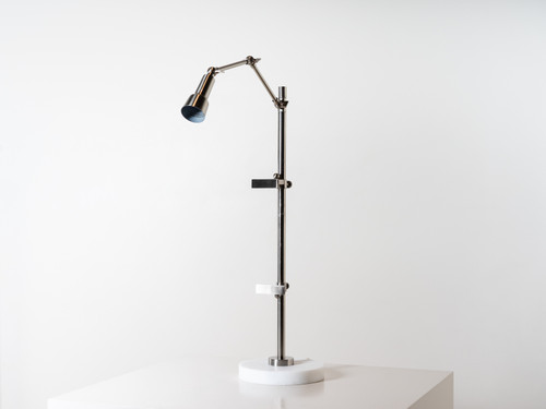 AJA  ART TABLE LAMP SILVER