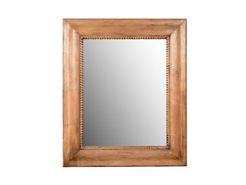 ANTIQUE LARGE OGEE MIRROR