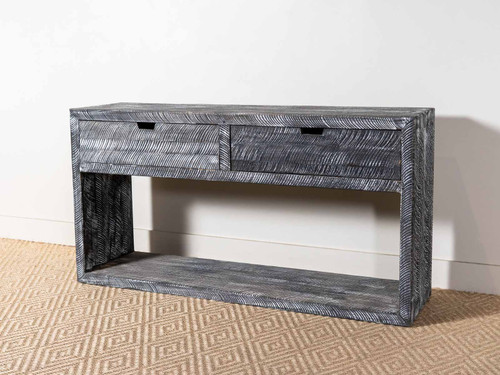 CURTH CUT CONSOLE ASH