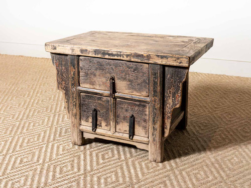 ANTIQUE KANG SIDE TABLE