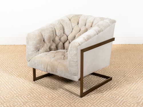 JACKSON TUFTED SHEARLING CHAIR