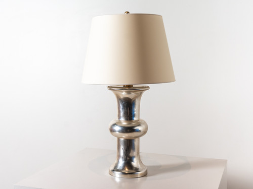 BULL NOSE CYLINDER TABLE LAMP