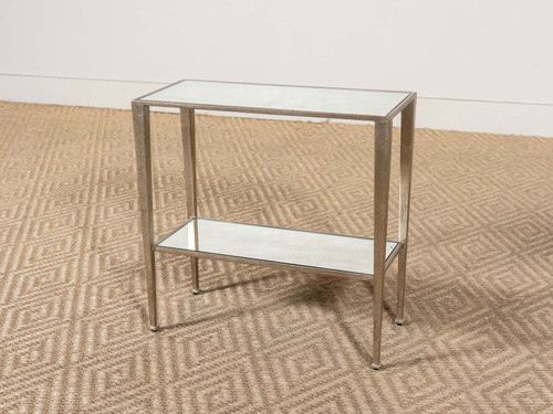 GIANNI SIDE TABLE SILVER