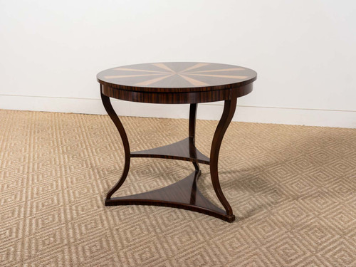 LARGE REGENCY STYLE END TABLE
