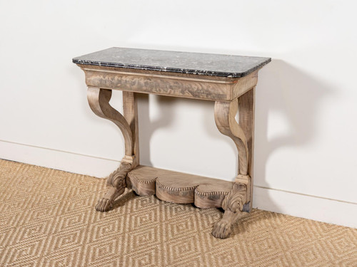 ANTIQUE PAW FOOT CONSOLE