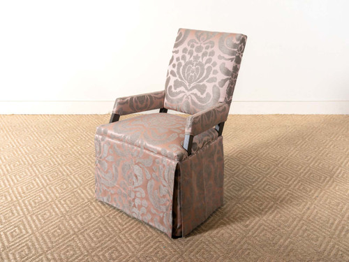 WENDY SKIRTED SLED CHAIR