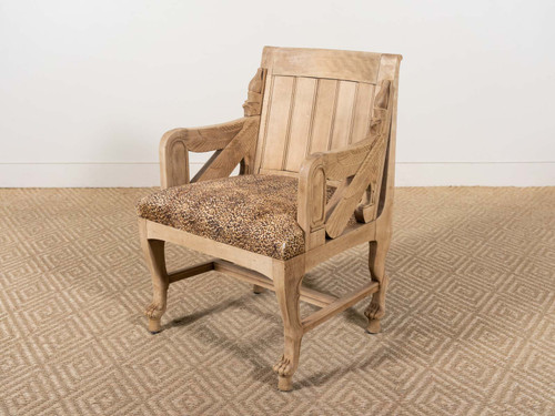 ANTIQUE EGYPTIAN CHAIR