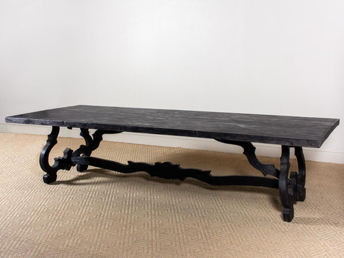 BAROQUE STYLE ELM TABLE